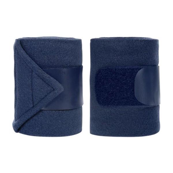 Fleecebandage mörkblå