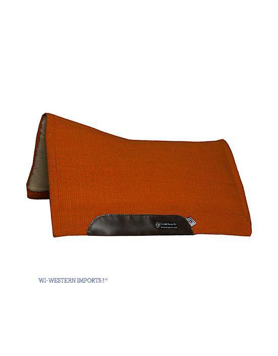 Solid color pad orange