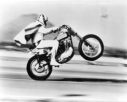 Evel Knievel's Harleys