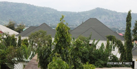 Andrew Azazi's Aso drive Mansions