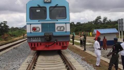 Abuja rail train