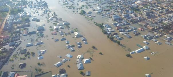 Arial view of flooded lokoja city3