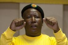 Julius Malema Member of South African Parliament Photo: Aljazeera