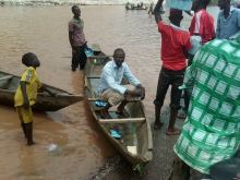 Lokoja and environs has been submerged by water
