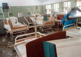 Nigeria hospital inside wards