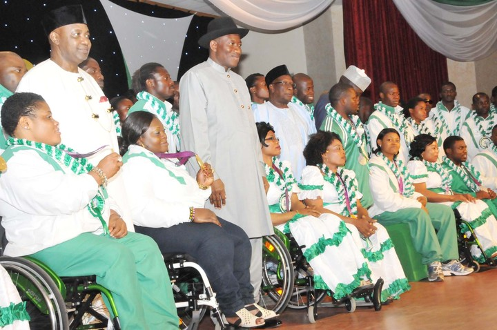 Nigeria's Para-lympians we victorious in the last Paralympics