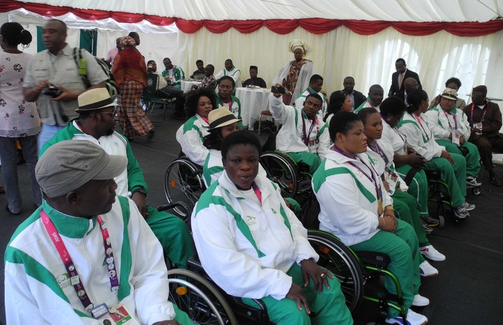 RECEPTION FOR TEAM NIGERIA PARALYMPIANS IN LONDON