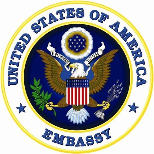 US embassy logo