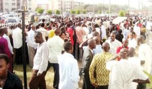 Job seekers in Nigeria