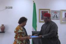 Nigeria UNDP agreement