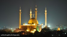 National Mosque Abuja.  [Photo: sultanheightsphotography.com]