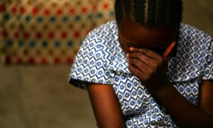Rape victim  Photo: guardian.co.uk