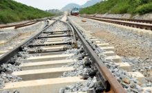 Abuja rail under construction