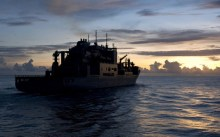 Ships fuel laden