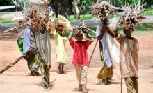 FILE: Children running errands during school hours in Northern Nigeria
