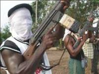 Gunmen used to illustrate the story