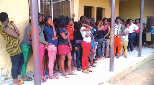 Sex workers [Photo: pmnewsnigeria.com]