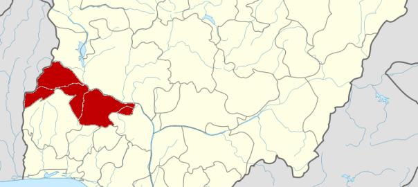 Kwara State map