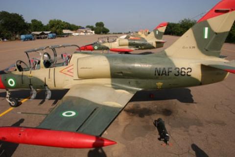 Nigerian Air Force Plane