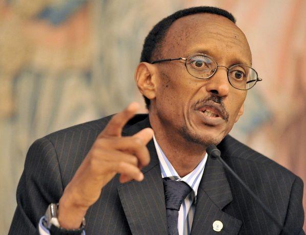 Paul Kagame, President of Rwanda.