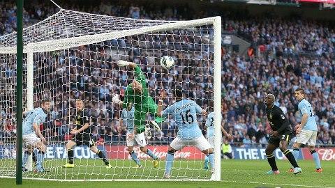 Wigan vs Mancity FA cup final goal