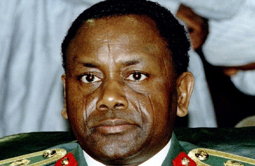 Former military Head of State, Sani Abacha