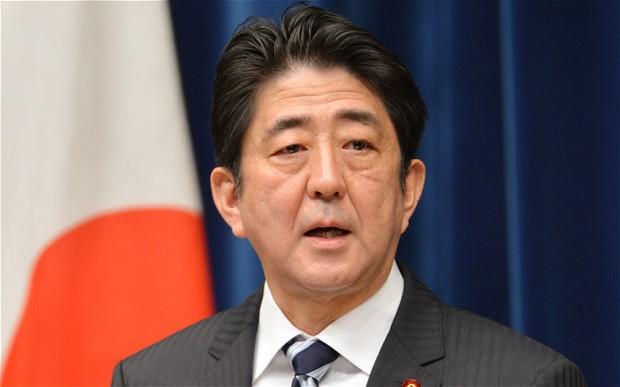Prime Minister of Japan, Shinzo Abe