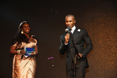 Waje and Gideon Okeke, Hosts of TFA 2012