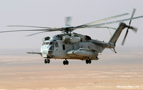 US military helicopter
