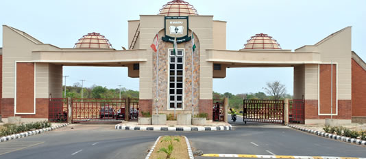 Main Entrance, KWASU. Photo: Premium Times