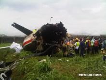 Agagu plane crash2