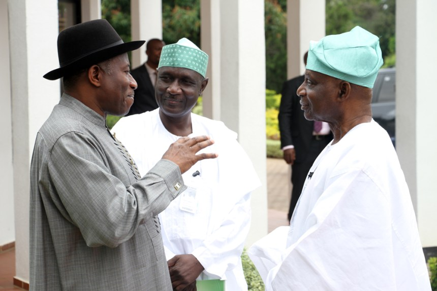 National Conference Commitee Chairman with GEJ