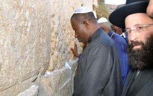 President Jonathan on Pilgrimage to Israel [Photo: Sahara Reporters]
