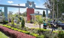 Unijos school gate used to illustrate the story.