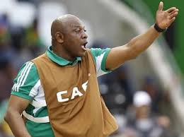 Coach Stephen Keshi