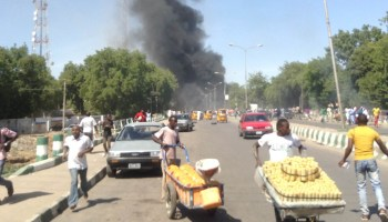Suicide bomber screamed