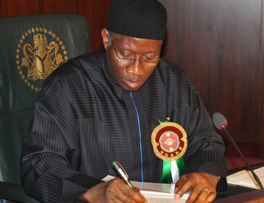 Jonathan Goodluck, President of Nigeria