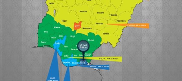 NIGERIA MAP - FAAC-2