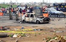 Scene of Nyanya (Abuja) bomb blast