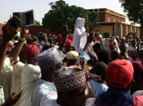 Emir of Kano and supporters