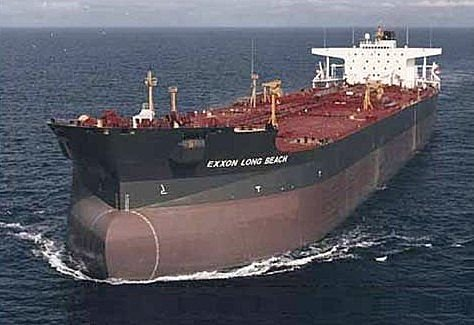 A cargo ship used to illustrate the story