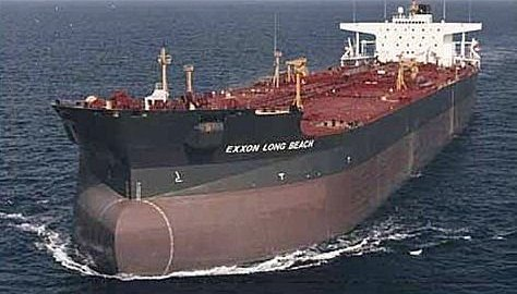 Oil cargo used to illustrate the story