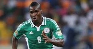 Super Eagles Forward Brown Ideye