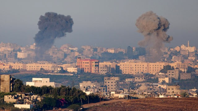 Israel/Gaza air strike