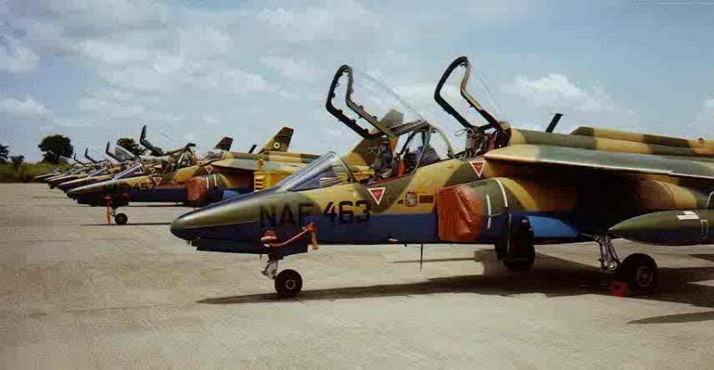 Nigeria Air Force Jets