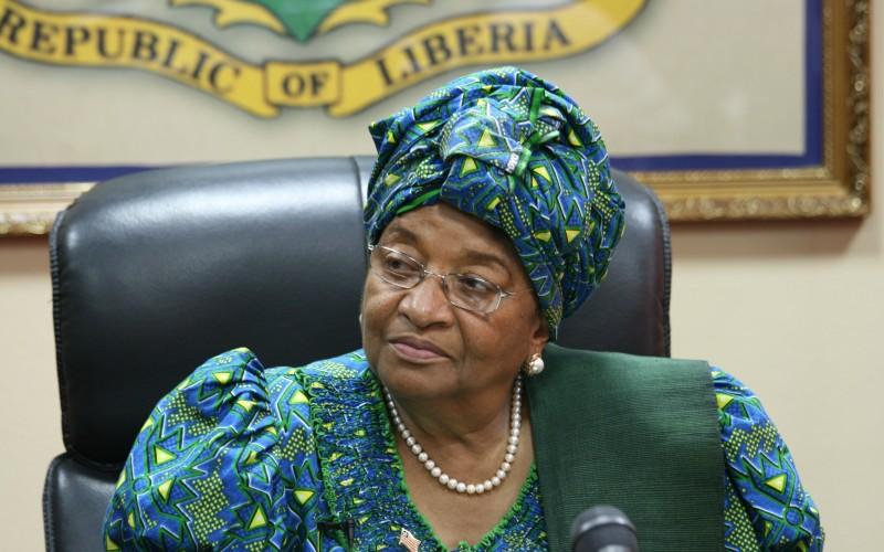 Liberian President, Ellen Johnson-Sirleaf