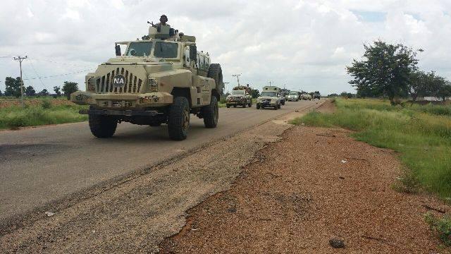 Nigerian Soldiers are regularly degrading Boko Haram