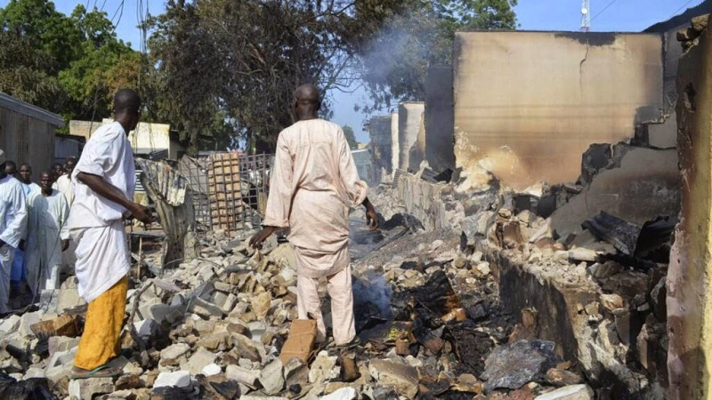 Image result for Boko Haram: Madagali residents threaten to relocate to Yola