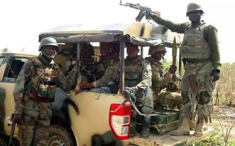 Nigerian army in Borno
