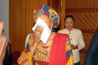 Senator Oluremi Tinubu in pain.